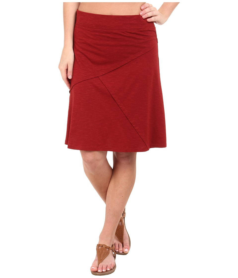 Toad&Co - Oblique Jersey Knit Skirt (Molten) Women's Skirt