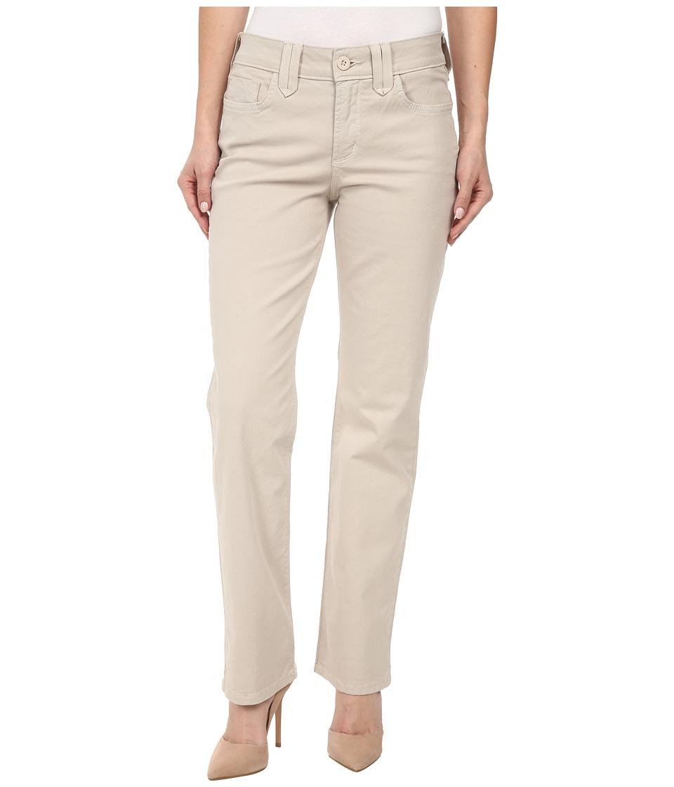 NYDJ Petite - Petite Hayden Straight Twill (Stone) Women's Jeans
