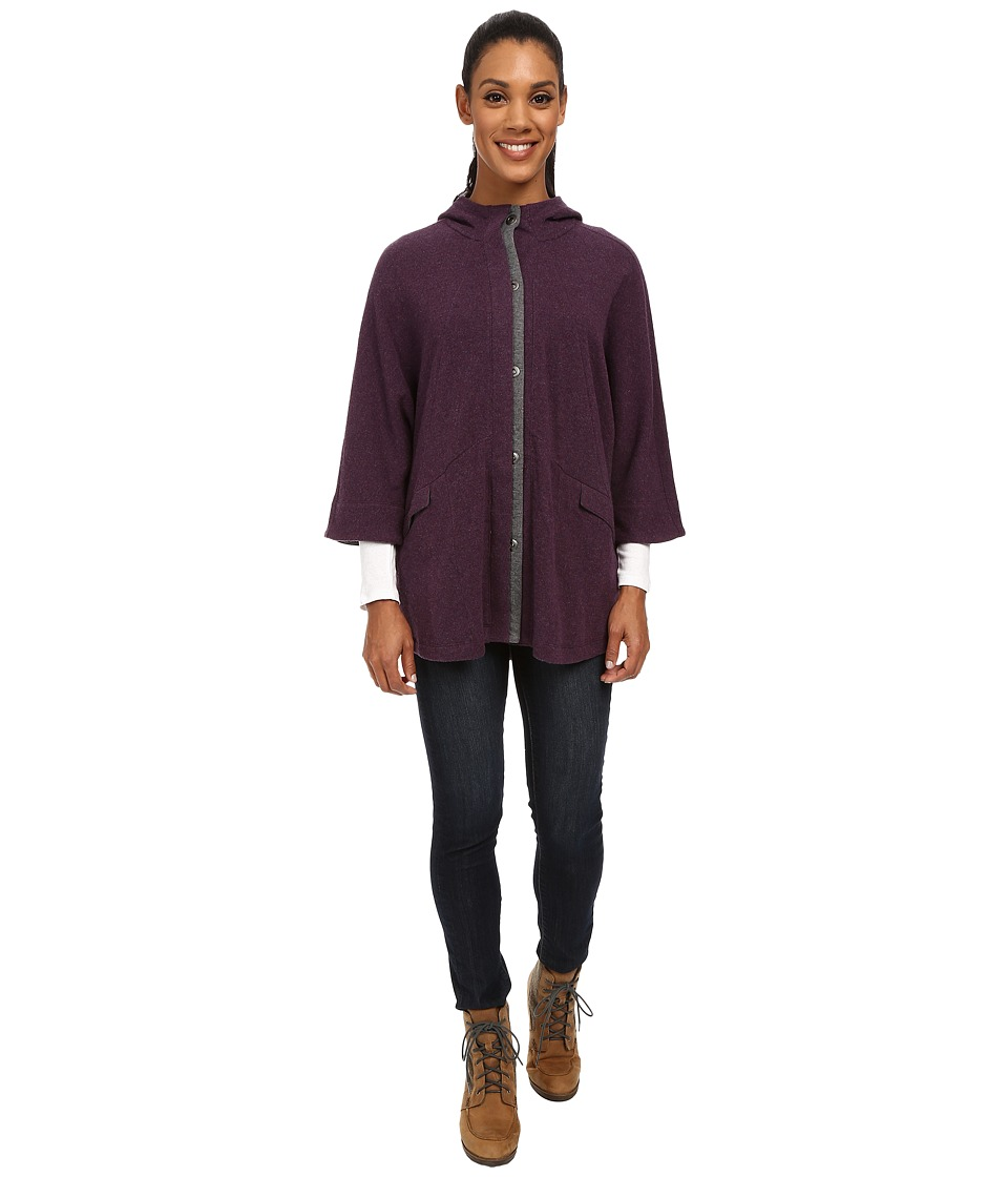 Toad&Co - Nightwatch Cape (Tyrian Purple) Women's Coat