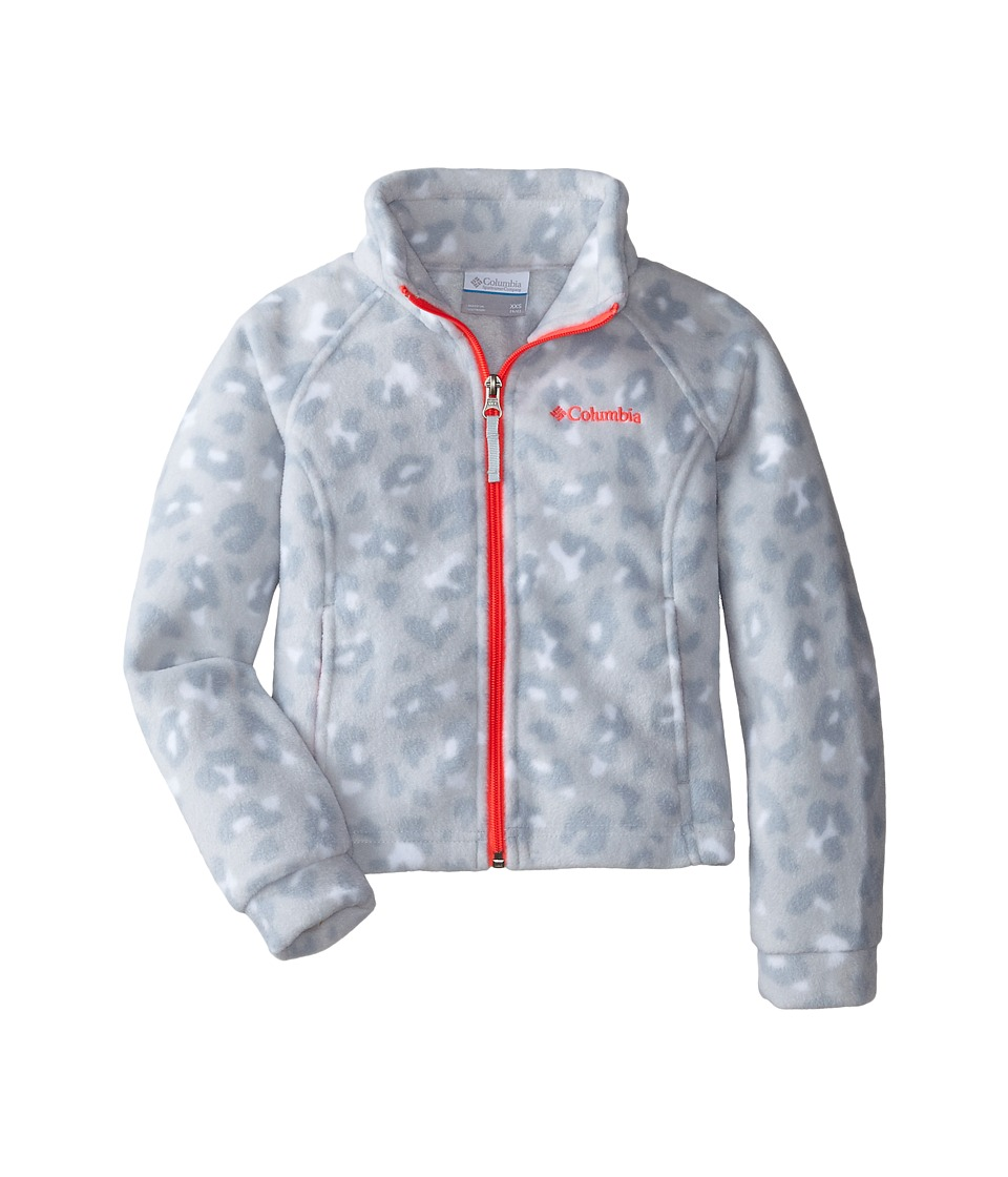 Columbia Kids - Benton Springs II Printed Fleece (Little Kids/Big Kids) (White Animal Camo) Girl's Fleece