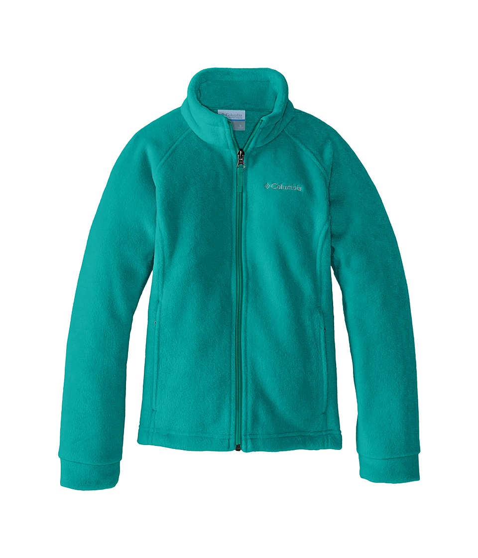 Columbia Kids - Benton Springs Fleece (Little Kids/Big Kids) (Mayan Green) Girl's Fleece