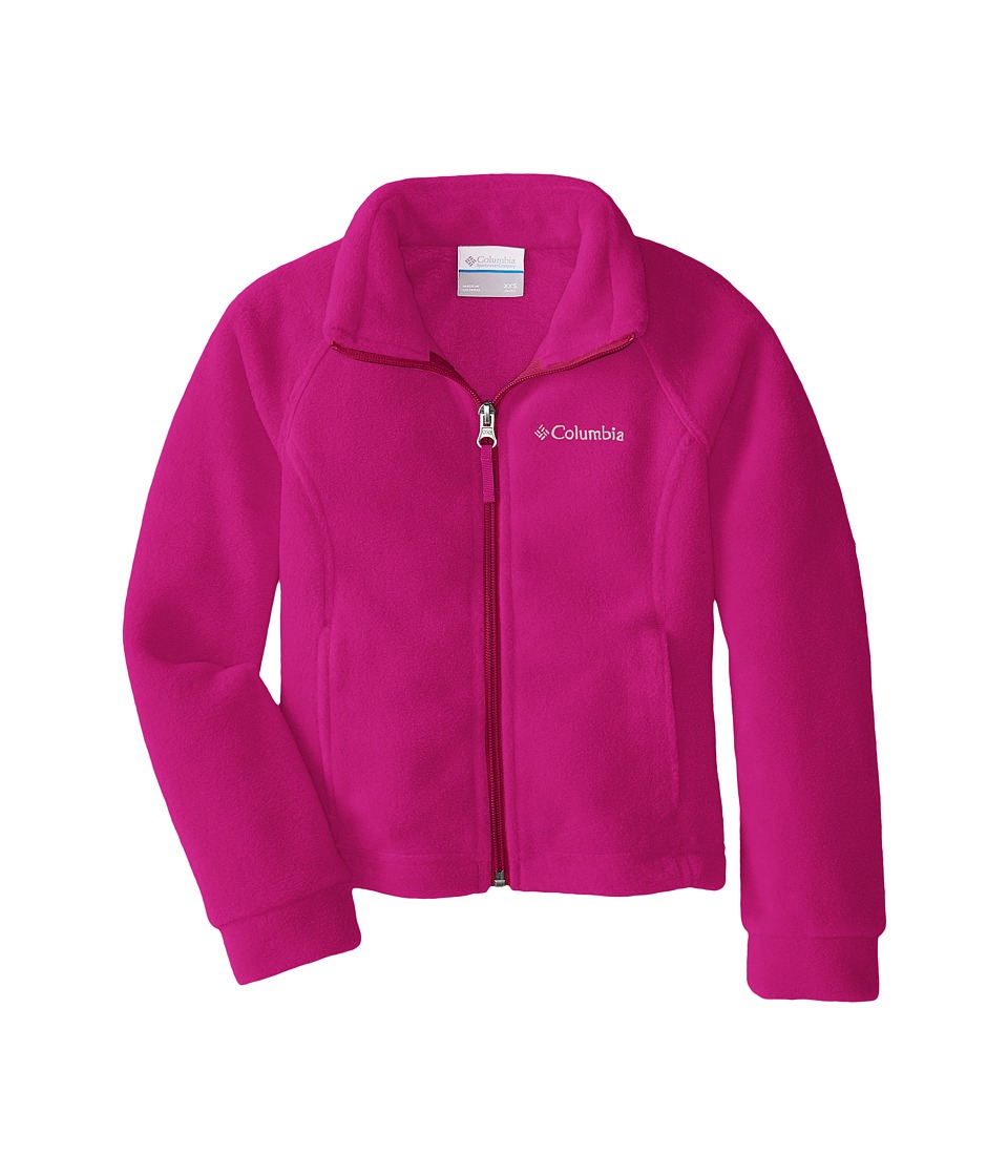 Columbia Kids - Benton Springs Fleece (Little Kids/Big Kids) (Groovy Pink 1) Girl