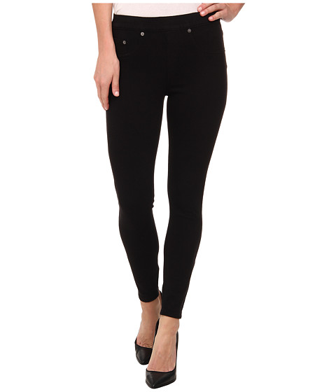 Spanx - Ready-To-Wow Cropped Denim Leggings (Black) Women's Jeans