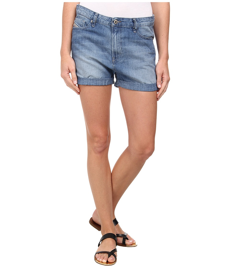 Diesel - De-Shozee Shorts (Denim) Women's Shorts