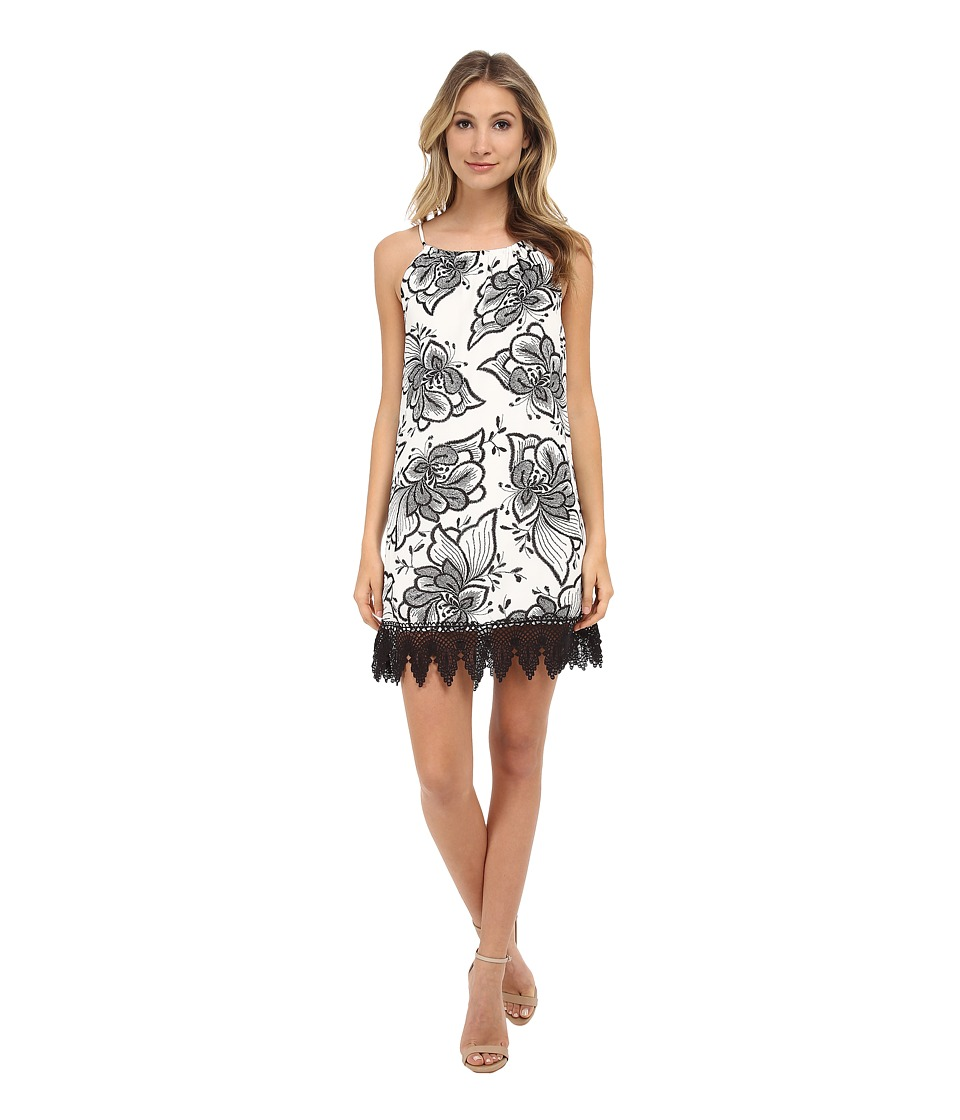 Gabriella Rocha - Katie Printed Dress (Black/White) Women's Dress