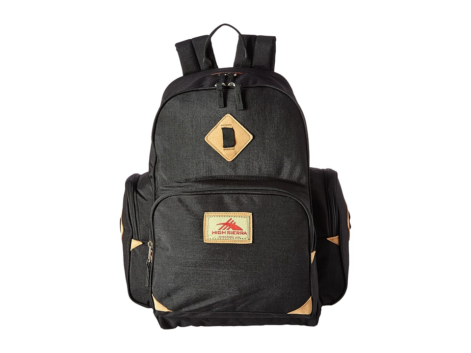 High Sierra - Warren Backpack (Black) Backpack Bags