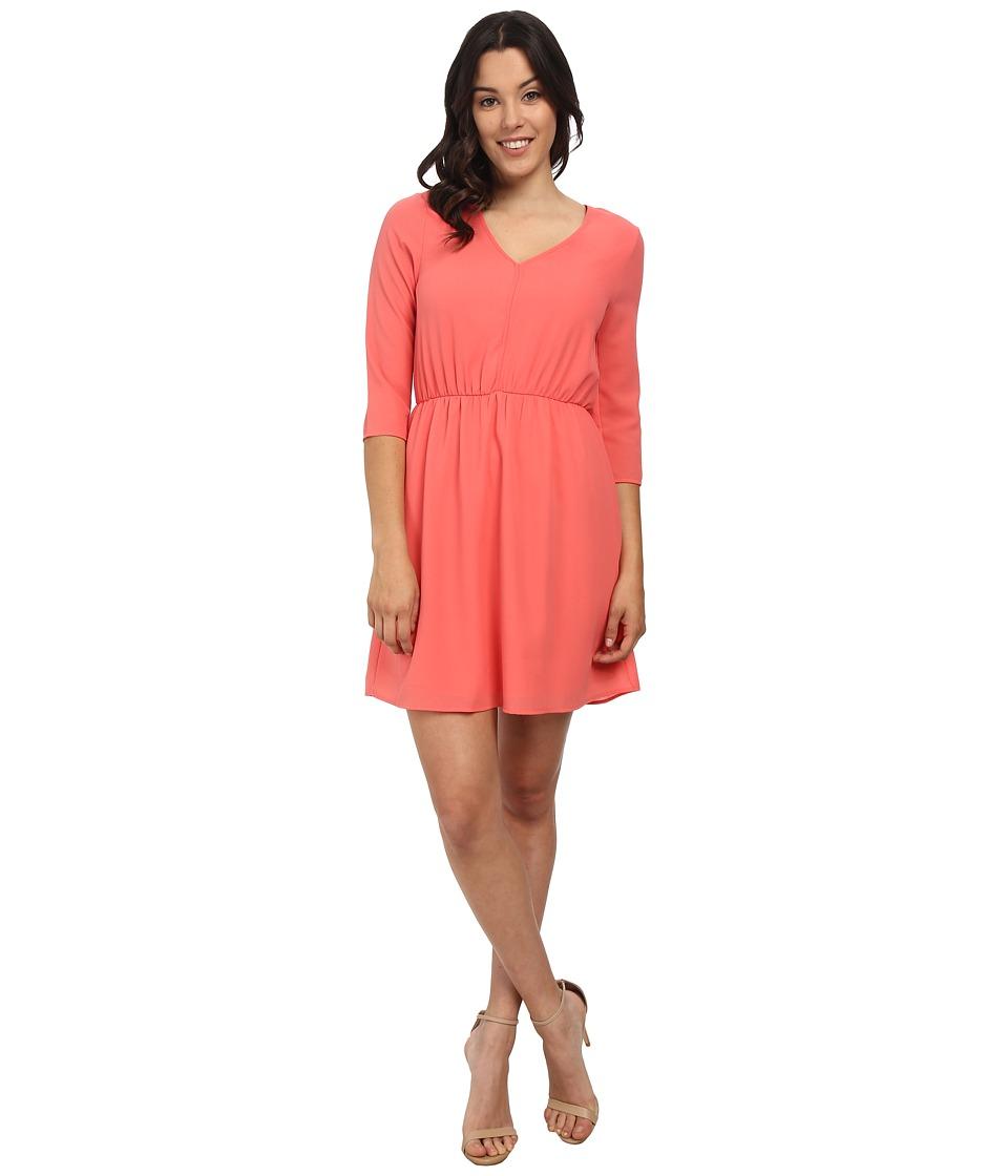Brigitte Bailey - Monica Dress (Light Coral) Women's Dress