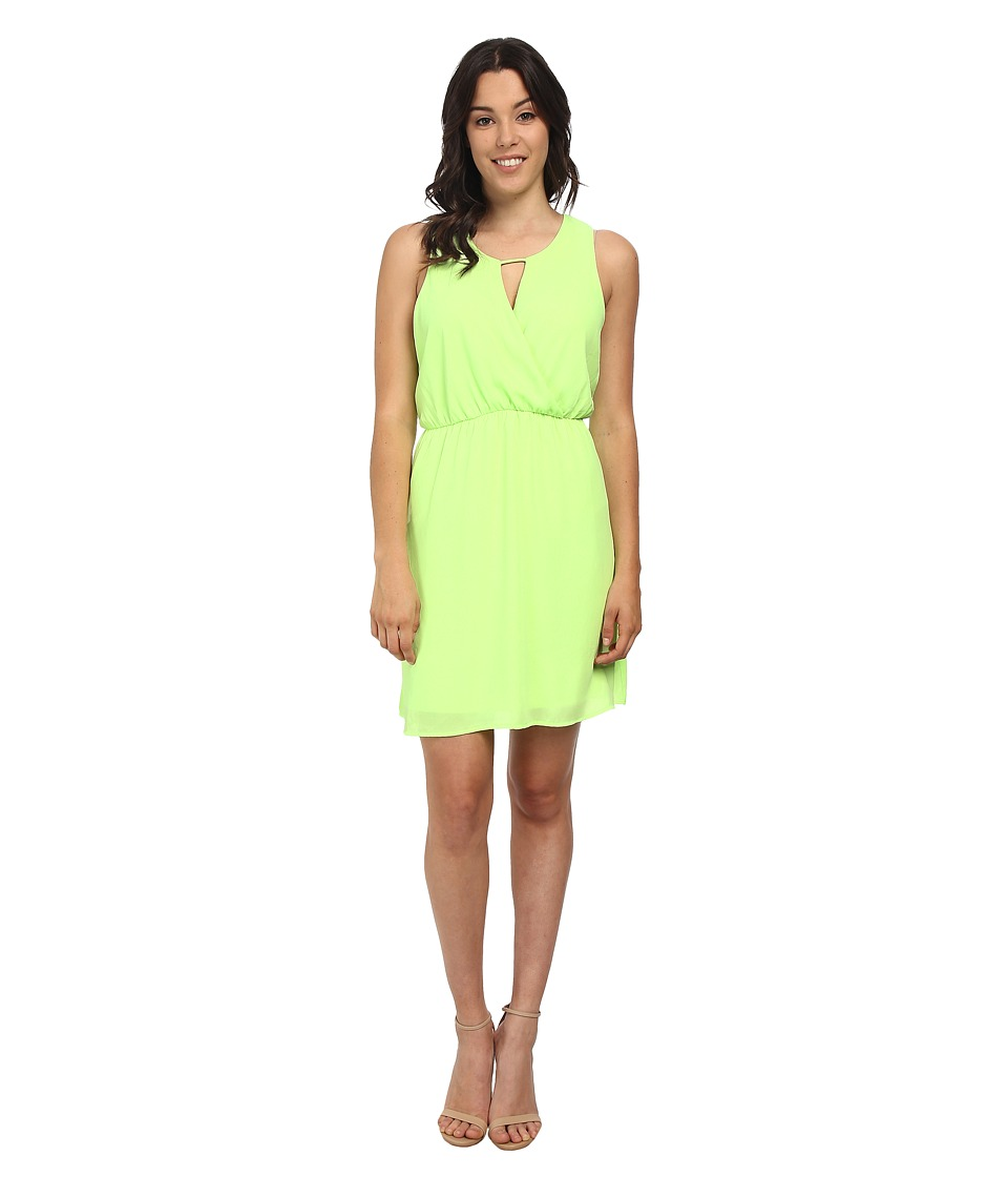 Brigitte Bailey - Janice Dress (Neon Yellow) Women's Dress