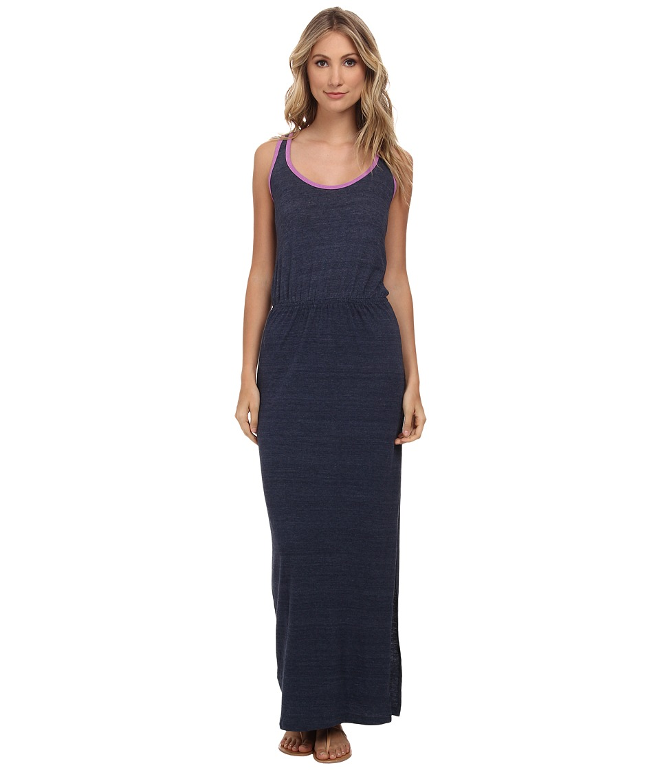C&C California Open Back Maxi (Navy) Women