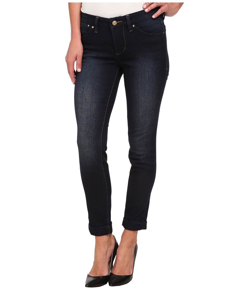 Jag Jeans - Erin Cuffed Ankle Knit Denim in Dark Whale (Dark Whale) Women's Jeans