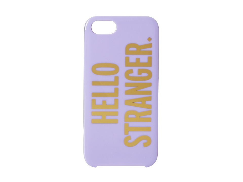 Kate Spade New York - Resin iPhone 5 Hello Stranger (Foxglove) Cell Phone Case