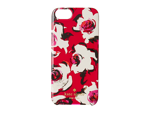 Kate Spade New York - Resin iPhone 5 Romantic Spring Floral Jewel (Sweetheart Pink) Cell Phone Case