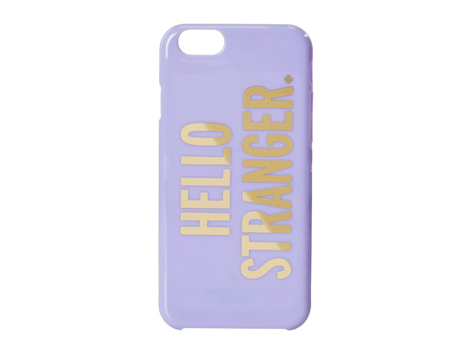 Kate Spade New York - Hello Stranger Resin iPhone 6 and 6s Case (Foxglove) Cell Phone Case