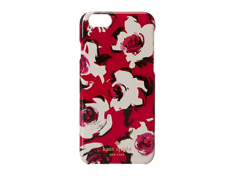 Kate Spade New York - Resin iPhone Romantic Spring Floral Jewel (Sweetheart Pink) Cell Phone Case