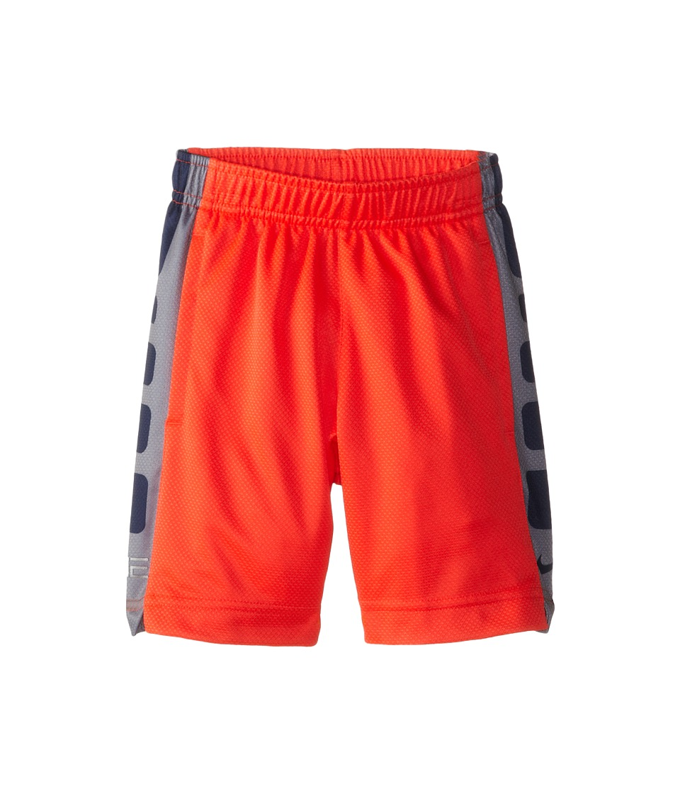 Nike Kids - Elite Stripe Shorts (Toddler) (Bright Crimson) Boy's Shorts