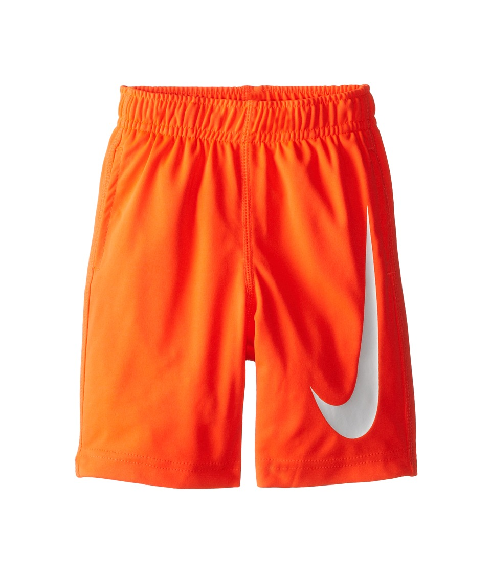 Nike Kids - Performance Swoosh Shorts (Toddler) (Bright Crimson) Boy's Shorts