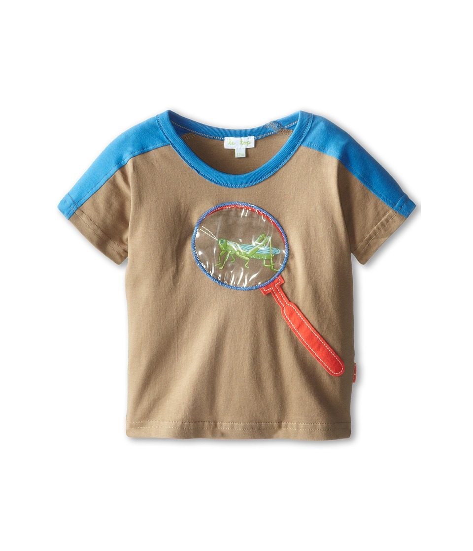 le top - Grasshopper Shirt Magnifier (Infant/Toddler) (Dark Khaki) Boy's T Shirt