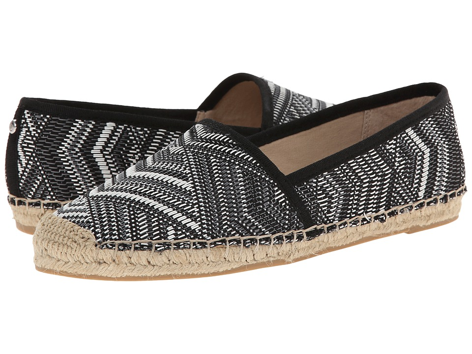Sam Edelman - Lynn 1 (Black/White) Women's Flat Shoes