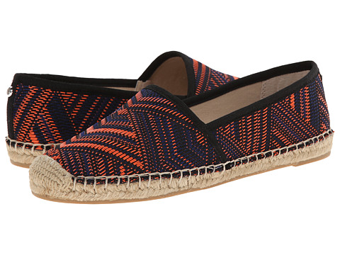Sam Edelman - Lynn 1 (Orange Multi) Women's Flat Shoes