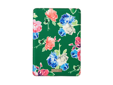 Kate Spade New York - iPad Air Hardcase Spring Blooms (Garden Green) Wallet