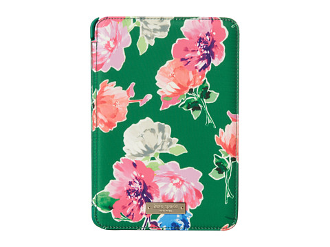 Kate Spade New York - iPad Mini Hardcase Spring Blooms (Garden Green) Wallet