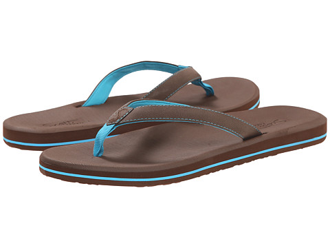 Scott Hawaii - Olena (Brown/Blue) Women's Shoes