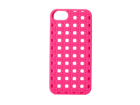 Kate Spade New York - Silicone iPhone 5 Woven Cane (Vivid Snapdragon) Cell Phone Case