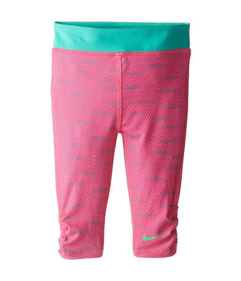 Nike Kids - Dri Fit Sport Essentials GFX Capri (Little Kids) (Pink Pow) Girl's Capri