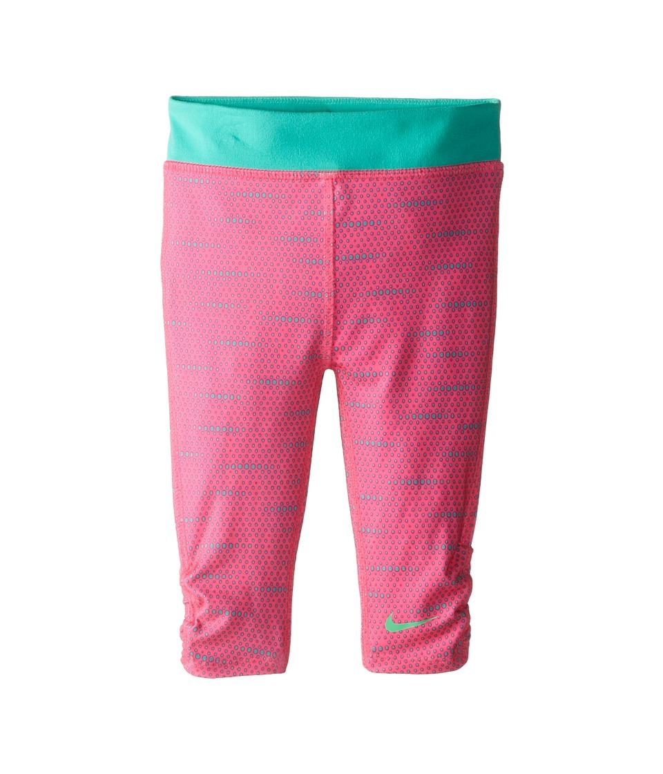 Nike Kids - Dri Fit Sport Essentials GFX Capri (Toddler) (Pink Pow) Girl's Capri