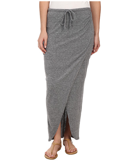 C&C California - Wrap Skirt (Heather Grey) Women