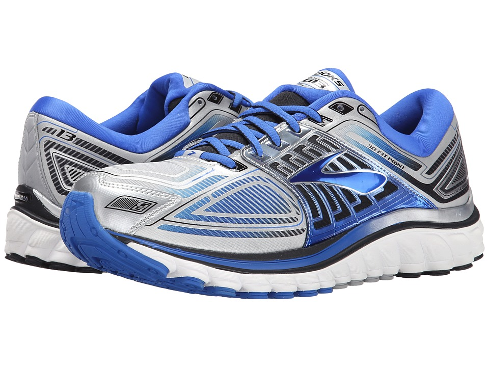 Brooks - Glycerin 13 (Silver/Electric Brooks/Black) Men's Running Shoes