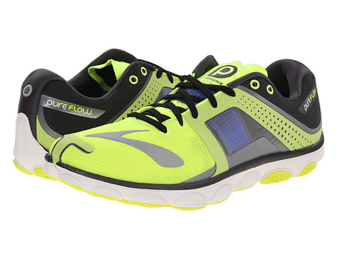 Brooks - PureFlow 4 (Nightlife/Anthracite/Electric Brooks) Men