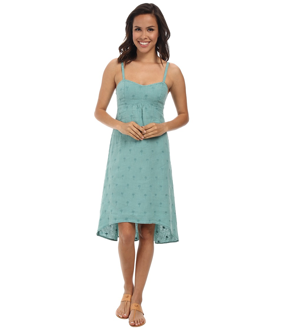 Tommy Bahama - Palm Embroidered Dress (Bristol Blue) Women