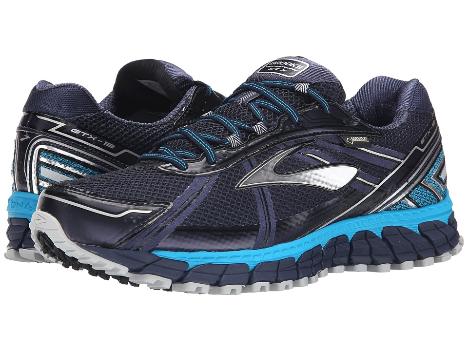 Brooks - Adrenaline ASR 12 GTX (Peacoat/Atomic Blue/Black) Men's Running Shoes