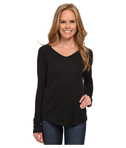 Columbia - Everything She Needs V-Neck Long Sleeve (Black) Women