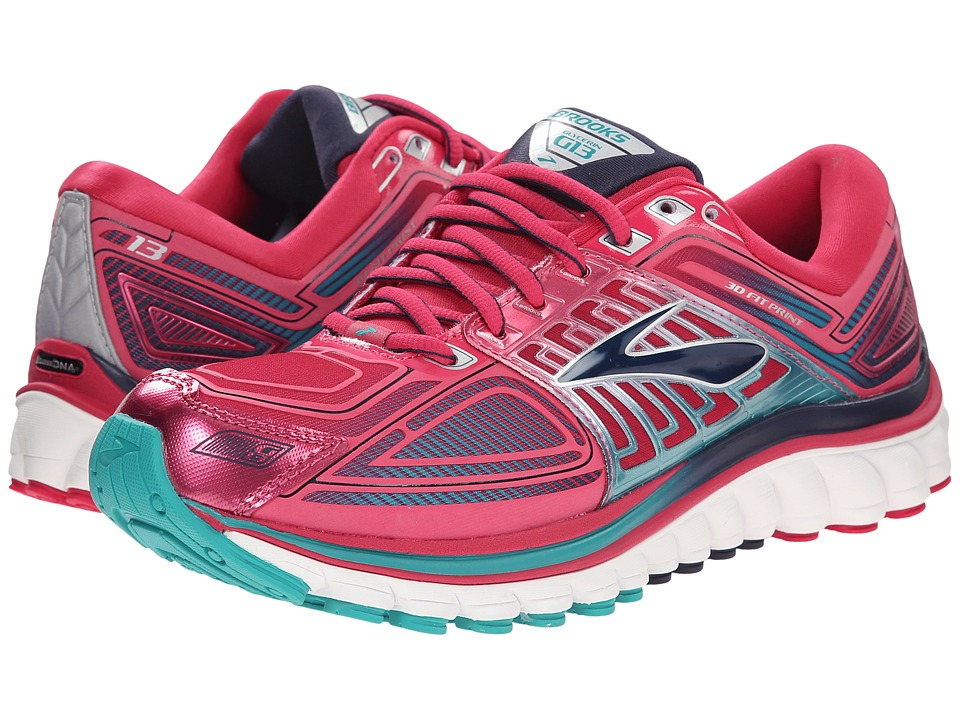 Brooks - Glycerin 13 (Bright Rose/Lapis/Parachute Purple) Women's Running Shoes