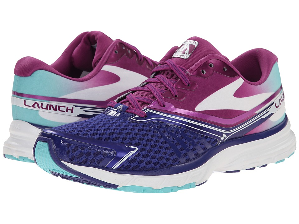 Brooks - Launch 2 (Spectrum Blue/Berry/Blue Radience) Women's Running Shoes