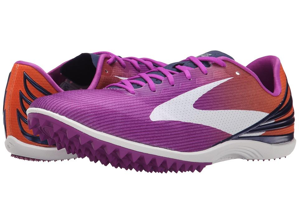 Brooks - Mach 17 Spikeless (Purple Cactus Flower/Orange Popsicle/Blueprint) Women