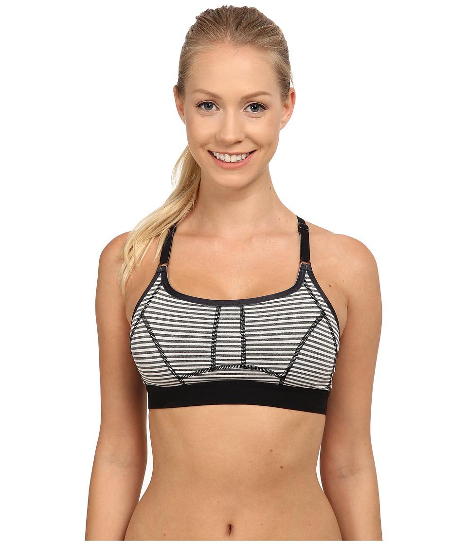 Lole - Alpine Bra (Black Stripe) Women's Bra