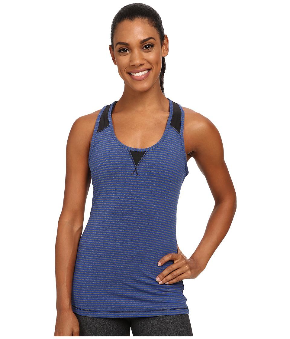 Lole - Twist Tank Top (Blue Mountain Stripe) Women's Sleeveless
