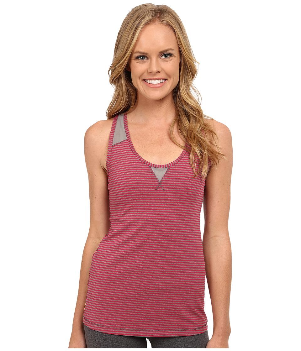 Lole - Twist Tank Top (Roses Stripe) Women's Sleeveless