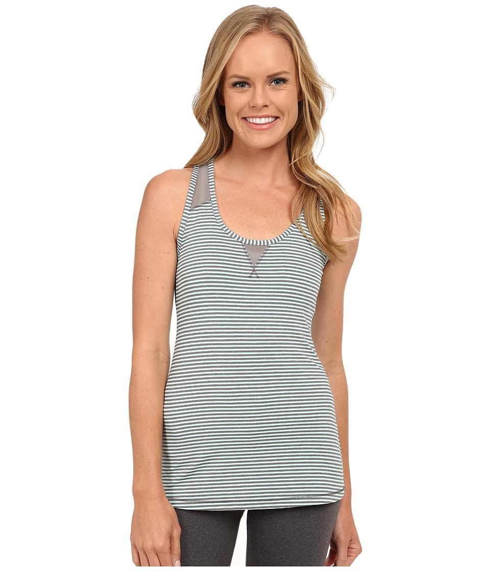 Lole - Twist Tank Top (Clearly Aqua Stripe) Women's Sleeveless