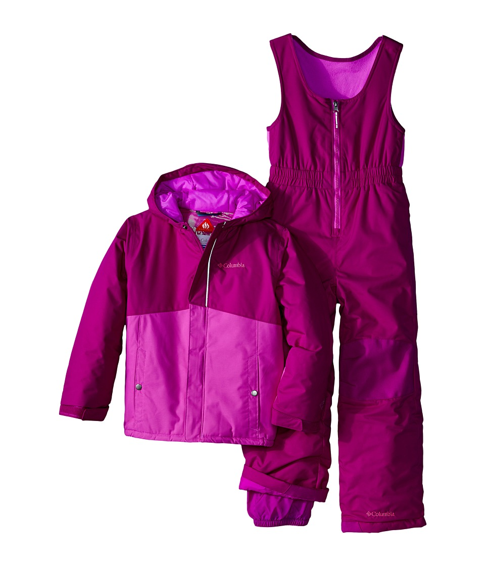 Columbia Kids - Buga Set (Little Kids) (Bright Plum/Foxglove) Kid's Active Sets