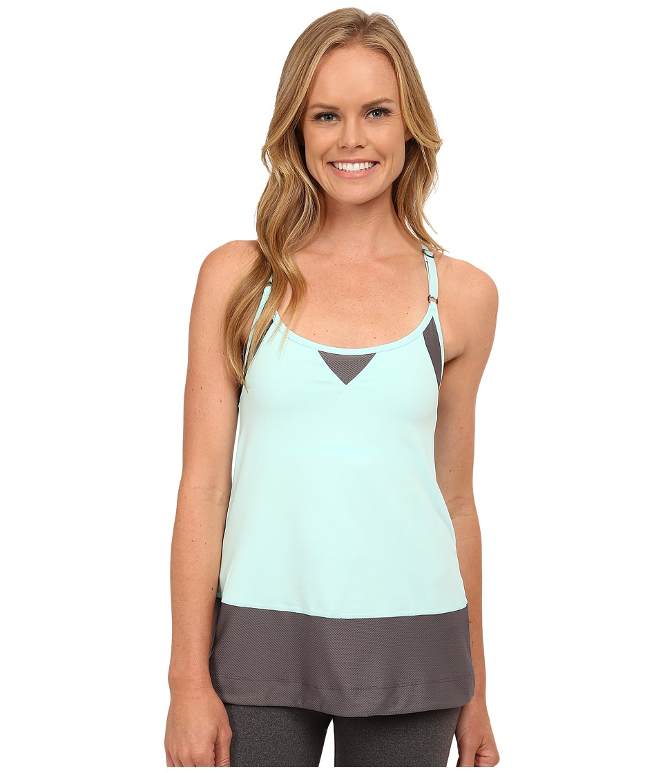 Lole - Desire Tank Top (Clearly Aqua) Women's Sleeveless