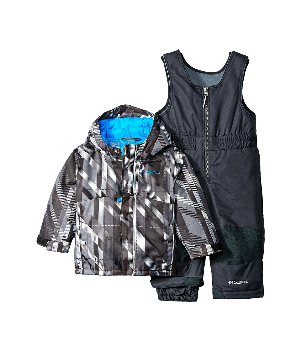 Columbia Kids - Buga Set (Infant) (Black Print) Kid's Active Sets