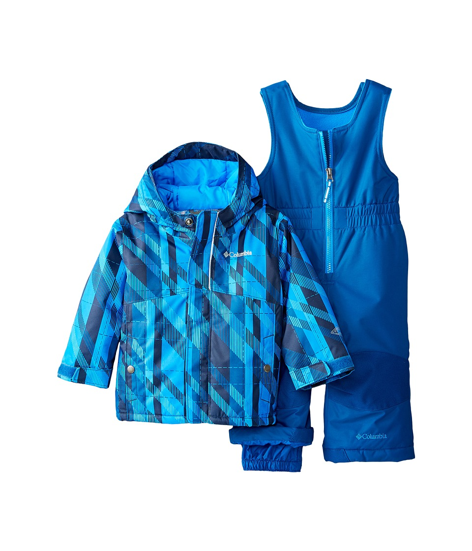 Columbia Kids - Buga Set (Infant) (Hyper Blue Print/Marine Blue) Kid's Active Sets