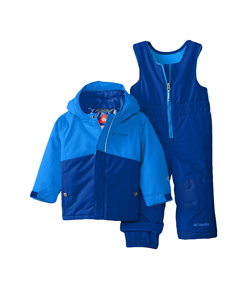 Columbia Kids - Buga Set (Infant) (Marine Blue/Hyper Blue) Kid's Active Sets