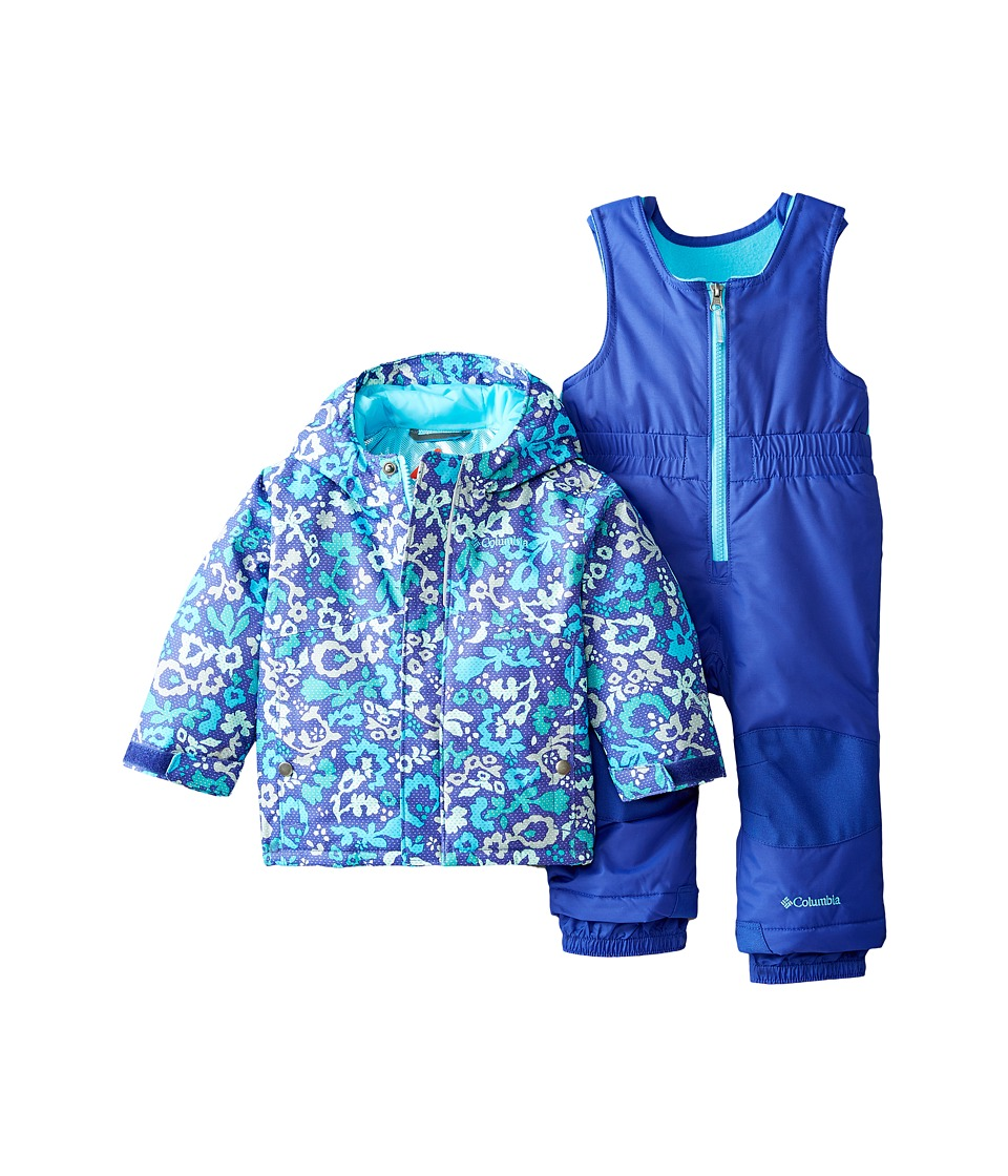 Columbia Kids - Buga Set (Infant) (Atoll Floral Print/Light Grape) Kid's Active Sets