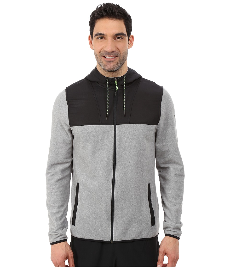 Under Armour - UA Coldgear(r) Infrared Survival Fleece Full Zip Hoodie (Steel/Stealth Gray/Stealth Gray) Men's Sweatshirt