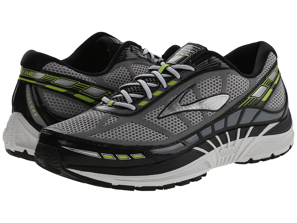 Brooks - Dyad 8 (River Rock/Black/Nightlife) Men's Running Shoes